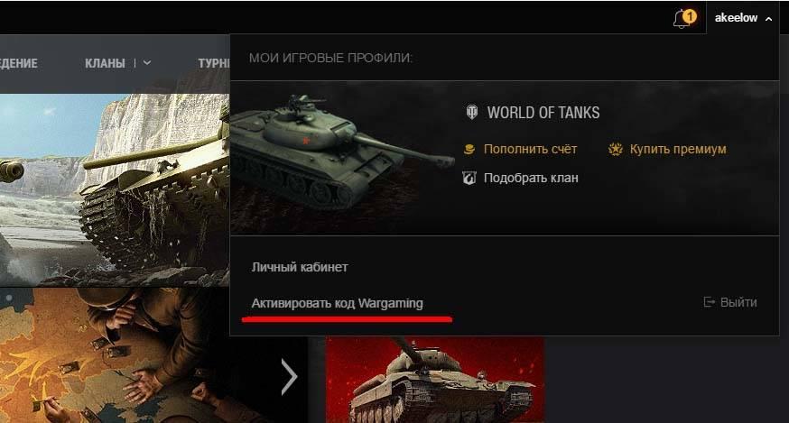 игровое имя и кнопку, активировать бонус код