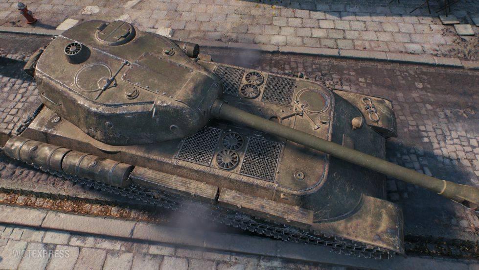 ИС-М - отечественный тяжелый премиум танк 8 уровня