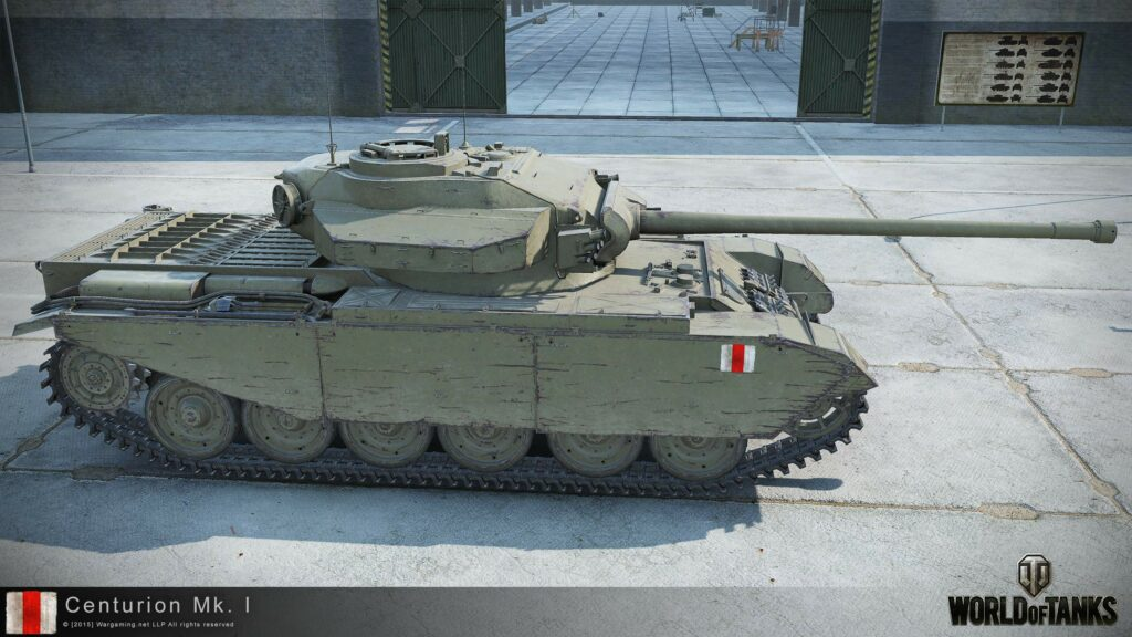 Centurion Mk. I - английский средний танк 8 уровня