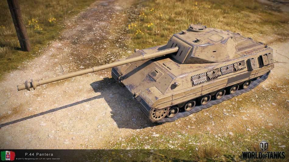 P.44 Pantera - итальянский средний танк 8 уровня