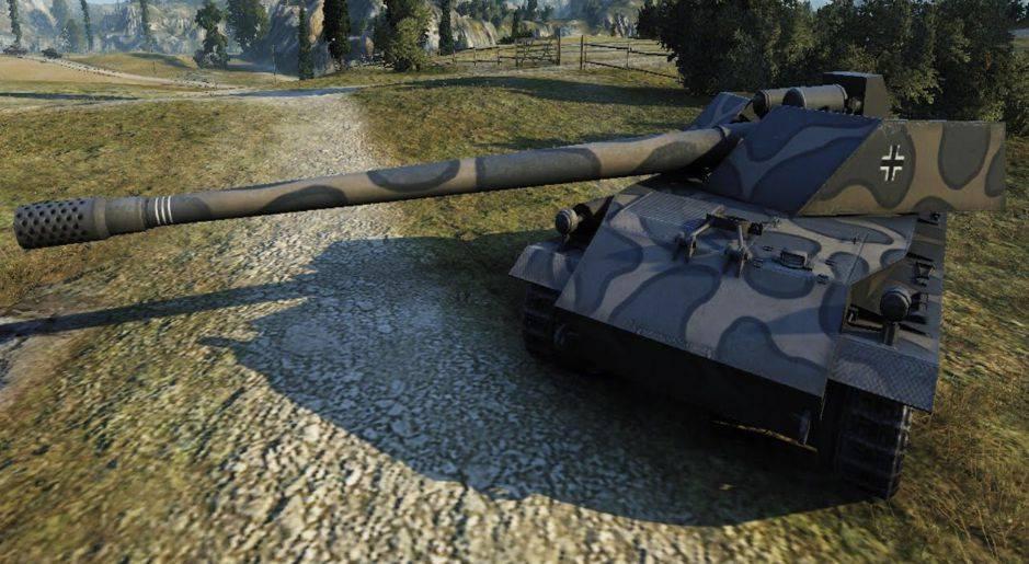 Rhm.-Borsig Waffenträger - неметскаяПТ-САУ 8 уровня