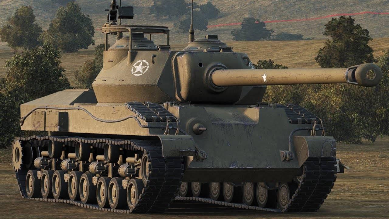 T28 Prototype - американская ПТ-САУ 8 уровная
