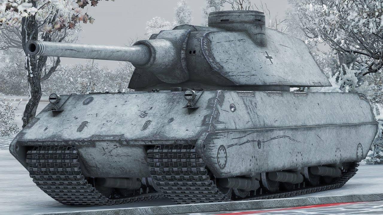 VK 100.01 (P) — Немецкий тяжёлый танк VIII уровня