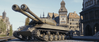 Объект 703 Вариант II танк с двумя оружиями